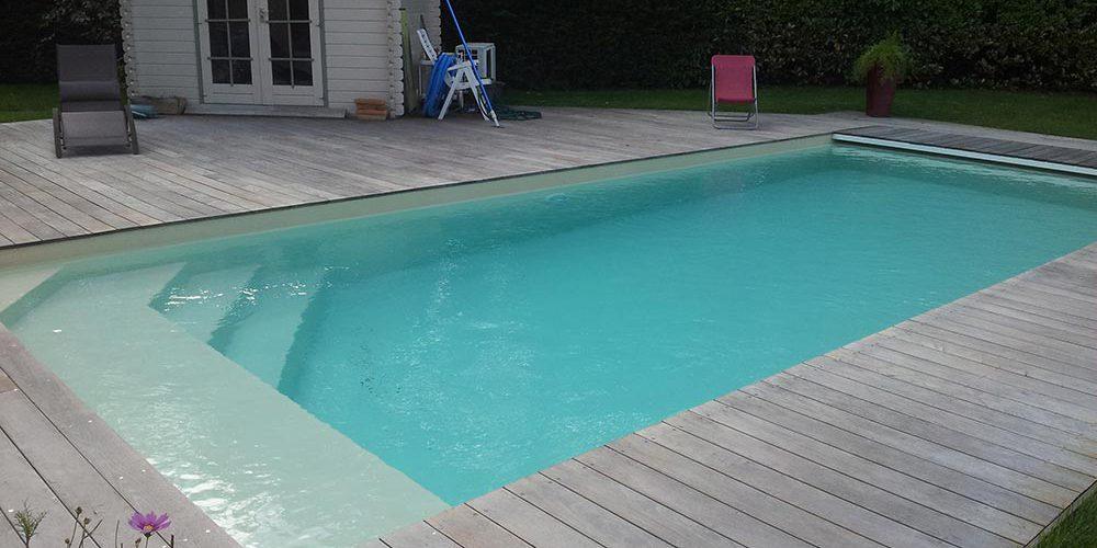 terrasse de piscine en bois en gironde plage de piscine en bois. Black Bedroom Furniture Sets. Home Design Ideas