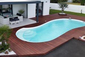 Mod les de piscine bordeaux fond plat fond inclin for Piscine coque 5x3