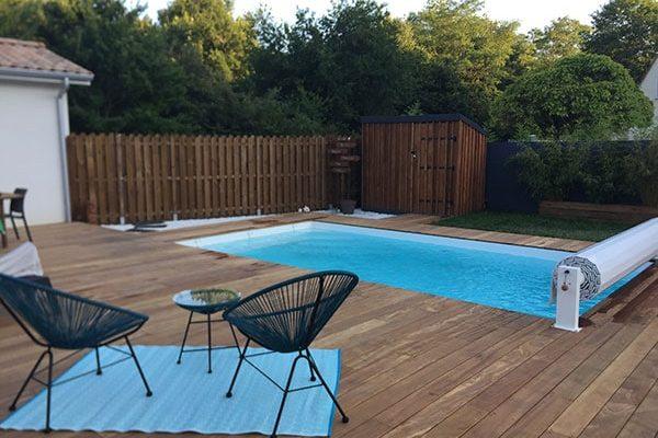 piscine fond plat Bordeaux